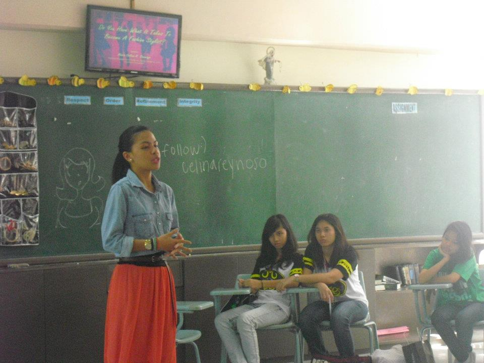 Assumption Antipolo ACP Talk on Styling
