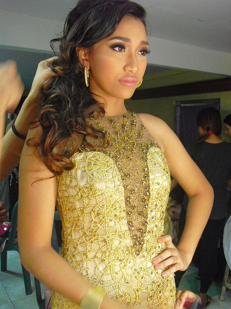 Nicole Ronquillo at the 2012 Mr. and Ms. Teen SGEN