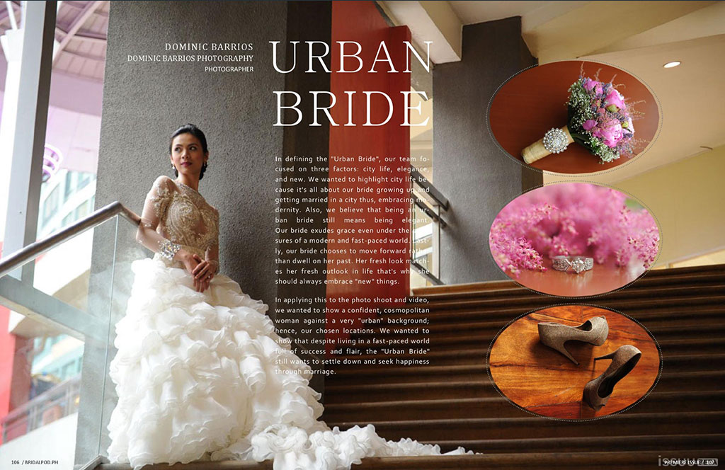 Urban Bride Editorial at www.bridalpod.ph