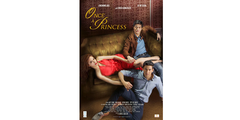 "Styling for JC De Vera in ""Once A Princess"" (2014) Movie Poster"